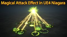 Magical Attack Effect | Unreal Engine Niagara Tutorials | UE4 Niagara Attack Effect Game Engine, Unreal Engine, Engineering, Vr, Poker, Youtube, Game Motor, Mechanical Engineering, Technology