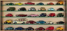 Autos clasicos a escala de coleccion.