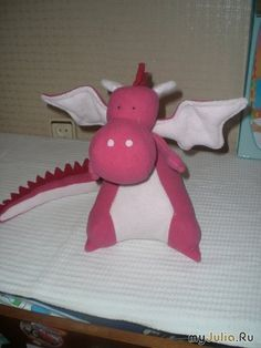How to sew a dragon. Dragon Pattern / Master class