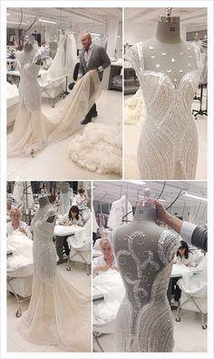 Haute Couture behind the scenes - dressmaking; fashion atelier; fashion design studio // Manuel Mota