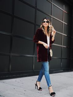 How to Style Velvet | The Girl From Panama