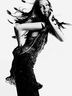 Coco Rocha | photo by Greg Kadel | Numéro 81 | #fashion #photography | lovely (: