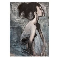 Autorský plakát od Lény Brauner Slečna Rakatamizau, 60x80cm