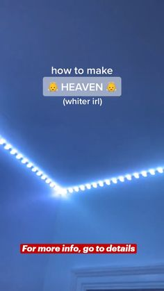How to make Heaven in real life with Lightning Crate™ LED Strip Lights