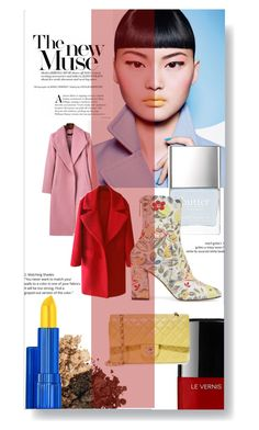 """The new muse"" by lucifuk on Polyvore featuring Chanel and Estée Lauder"