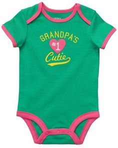 Carters Grandpas Cutie Bodysuit GREEN 9 Mo Carters,http://www.amazon.com/dp/B00B0C7WD0/ref=cm_sw_r_pi_dp_vzXArbCA6AD54393