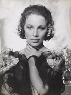 """Tilly Losch (Ottilie Ethel Leopoldine """"Tilly"""" Losch, Countess of Carnarvon) - dancer and actress who became a Countess - married  Henry Herbert, 6th Earl of Carnarvon."""