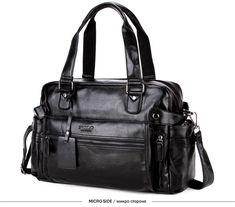 VICUNA POLO Leather Men s Travel Bag Popular Design Duffle Bag High Quality  Luggage Handbag Large Capacity a556411e17e30