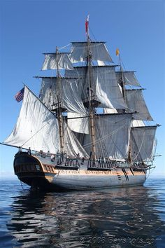 HMS Surprise (replica of the HMS Rose, which was built in 1757)
