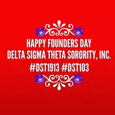 Wishing a very blessed and #happy #foundersday to all of my #dst #sorors around the world!! #dst103 #dst1913 by diva3482