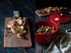 receta de fricandó con setas