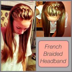 French Braid Headband?!
