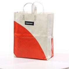 Freitag shopping bag.