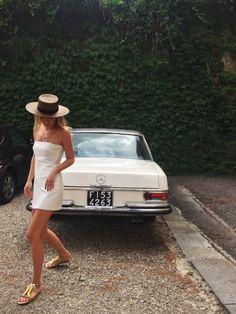Summer White Dress www.emfashionfiles.com