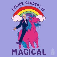 Bernie Sanders Is Magical - GIF on Imgur