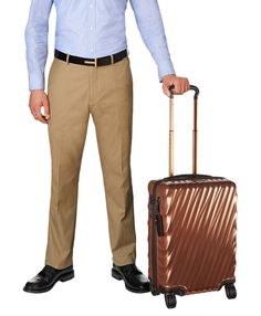 The farther you go, the more stamps on your passport, the better your story. Your 19 Degree luggage is part of that story. Equally striking from a distance or at close range, this lightweight yet durable carry-on boasts a modern silhouette with fluid looking angled lines, enriched by an exclusive Japanese film that fortifies the case while enhancing its naturally reflective properties and metallic appearance. Ideally designed for short, overnight trips and travel within Europe and other…