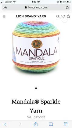 Lion Brand Yarn, Sparkle