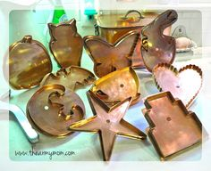 It's official! Michael Bonne is back, creating one-of-a-kind copper cookie cutters!!