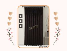 Pleated Curtains, Beautiful Curtains, Velvet, Make It Yourself, Link, Home Decor, Products, Ruffle Curtains, Decoration Home