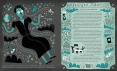 WOMEN IN SCIENCE — Rachel Ignotofsky Design Katherine Johnson, Cool Mom Picks, Marie Curie, Women In History, Ancient History, Change The World, Illustration Art, Artwork, Ada Lovelace