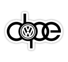 Stickers featuring millions of original designs created by independent artists. Vw Tattoo, Vw Logo, Car Logo Design, Automotive Logo, Street Dogs, Volkswagen Polo, Car Logos, Sweet Cars, Silhouette Projects