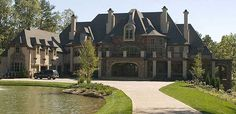 Castle, anyone? Architectural Designs House Plan 12270JL
