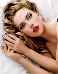 Scarlett Johansson- it's almost sickening how gorgeous and talented she is!!