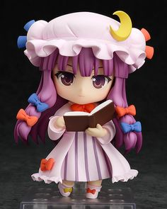 Nendoroid - Patchouli Knowledge  Could be found at amiami.com or http://www.suruga-ya.jp/