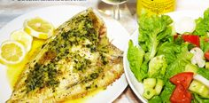 Calcan la grill cu gremolata si salata. Peste la grill cu salata. Avocado Toast, Seafood, Grilling, Fish, Breakfast, Sea Food, Morning Coffee, Grill Party, Morning Breakfast