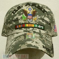 - Very nice hat. Do not forget to provide apt, unit, floor etc number. Camouflage Colors, United States Army, Vietnam Veterans, Cool Hats, Us Army, Christmas 2019, Baseball Cap, Campaign, Ribbon