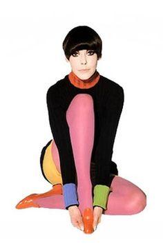 Muse of Mod Peggy Moffitt.