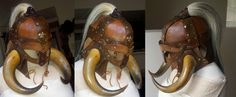 Leather Viking Helm by ~theDOC30427 on deviantART