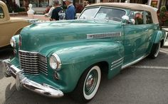 1941 Cadillac     Cars on 5th Avenue in Naples, FL