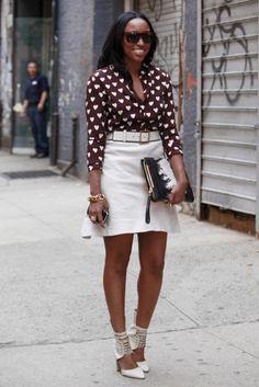 Street Style: Fashion Week Flashback: Queen of Hearts: Essence.com