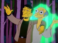 "Mr Burns and Leonard Nemoy singing ""Good Morning sunshine"" Kwik E Mart, Prime Directive, Leonard Nimoy, Good Morning Sunshine, Himym, Homer Simpson, Batman, Futurama, American Horror Story"