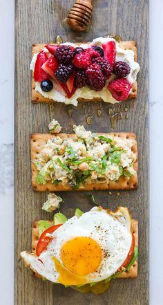 Gluten Free Toast Three Ways
