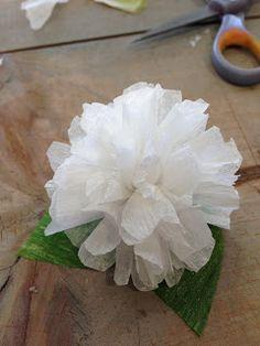 Handmade Flowers::www.MarionSmithDesigns.blogspot.com