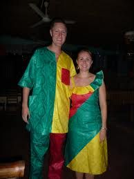#AfricanShop #AfricanFlags #Benin flag outfit