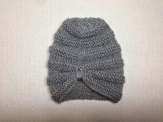 Baby girl turban - Knitting Pattern