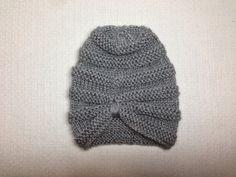Baby girl turban - Knitting Pattern