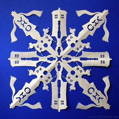 Doctor Who snowflake
