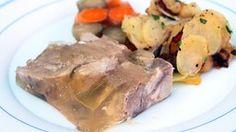 Sauerfleisch mit Schmorkartoffeln