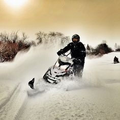 Take part in a treasured New Brunswick pastime. Travel through forests, along the coast and rivers or even to the Maritime's highest peak – all by snowmobile! http://www.tourismnewbrunswick.ca/Do/OutdoorActivities/WinterActivities/Snowmobiling.aspx?utm_source=pinterest&utm_medium=owned&utm_content=yellowish_snowmobiling&utm_campaign=tnb%20social