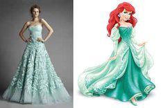Umm YES please......35 Wedding Dresses Every Disney Obsessed Bride Will Love #wedding #disney