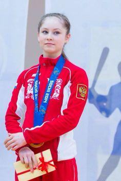 Yulia Lipnitskaya Gold Medal 1000+ images about fam...