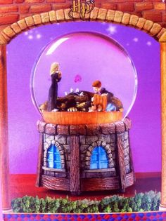 Fab find HARRY POTTER MUSICAL WATERGLOBE BY ENESCO (2001)