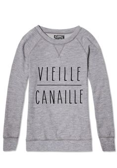 "Sweat ""Vieille Canaille"" #shaman #expression"