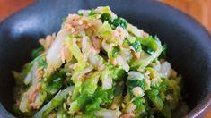 1/4株なんてペロリ♪やめられない!止まらない!『白菜とツナのうまだれナムル』|LIMIA (リミア) Guacamole, Sprouts, Vegetables, Ethnic Recipes, Food, Meal, Essen, Vegetable Recipes, Hoods