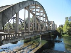 Bridge into Jefferson #Oregon - Willamette Valley Scenic Bikeway