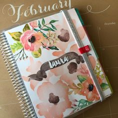 I just created this gorgeous cover for my Erin Condren Life Planner. I will be selling them soon! <3 <3 Keep your eye out.